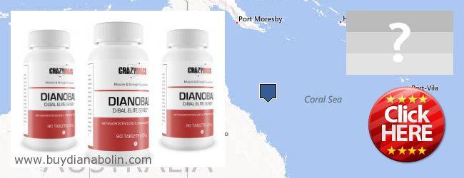Где купить Dianabol онлайн Coral Sea Islands