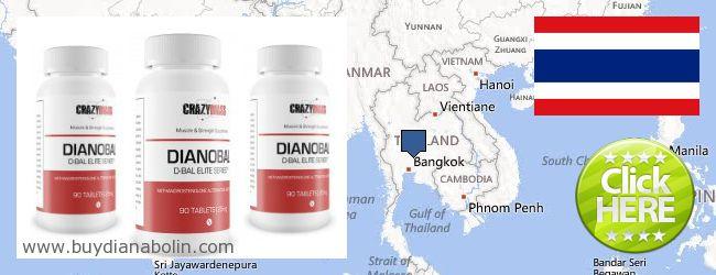 Где купить Dianabol онлайн Thailand