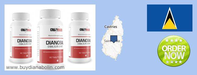 Къде да закупим Dianabol онлайн Saint Lucia