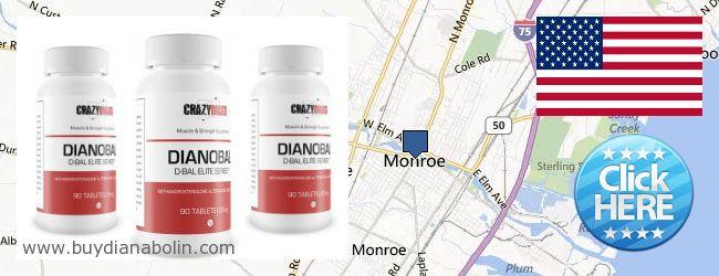 Where to Buy Dianabol online Monroe MI, United States