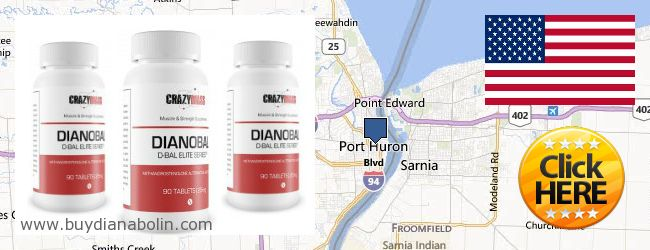 Where to Buy Dianabol online Port Huron MI, United States